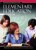 Elementary Education A Reference Handbook
