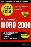 Microsoft Word 2000 Exam Cram