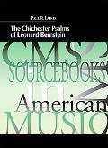 The Chichester Psalms of Leonard Bernstein (Cms Sourcebooks in American Music)