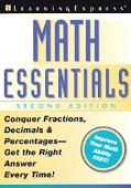 Math Essentials Conquer Fractions, Decimals and Percentages-Get the Right Answer Every Time!