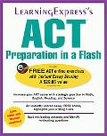 ACT Preparation In a Flash