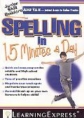 Junior Skill Builders: Spelling in 15 Minutes a Day