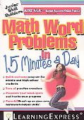 Math Word Problems in 15 Minutes a Day [With Access Code]