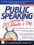 Public Speaking Success in 20 Minutes a Day