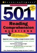 501 Reading Comprehension Questions, Fourth Edition