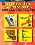 Internet Activities for Language Arts Intermediate