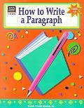 How to Write a Paragraph Grades 6-8