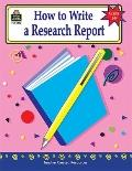 How to Write a Research Report Grades 6-8
