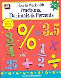 How to Work With Fractions, Decimals & Percents Grades 5-8