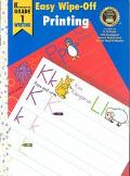 Easy Wipe-Off Printing Kindergarten Grade 1 Writing