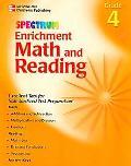 Spectrum Enrichment Math And Reading Grade 4