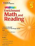 Spectrum Enrichment Math And Reading Grade 5