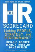Hr Scorecard Linking People, Strategy, and Performance