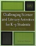 Challenging Science And Literary Activities for K-9 Students The Cricket Chronicles