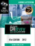 Bisk CPA Review: Auditing & Attestation, 41st Edition, 2012(CPA Comprehensive Exam Review- A...