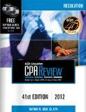 Bisk CPA Review: Regulation, 41st Edition, 2012 (Comprehensive CPA Exam Review Regulation) (...