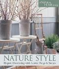 Nature Style Elegant Decorating With Leaves, Twigs & Stone