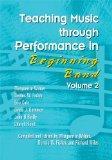 Teaching Music through Performance in Beginning Band Vol.2/G7264