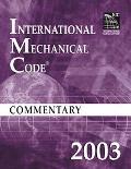 International Mechanical Code Commentary 2003