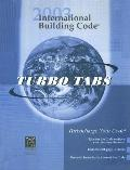 International Building Code 2003 Turbotabs: For Softcover Version