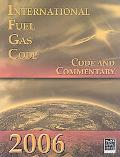 International Fuel Gas Code: Code and Commentary