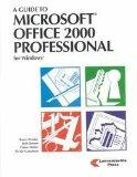 A Guide to Microsoft Office 2000 Professional
