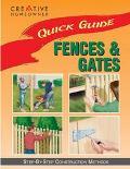 Quick Guide Fences & Gates