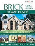 Brick Home Plans Stone, Stucco, Masonry
