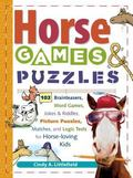 Horse Games & Puzzles for Kids 102 Brainteasers, Word Games, Jokes & Riddles, Picture Puzzle...