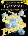 Language Arts Tutor: Grammar (Tutor Series)