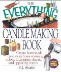 Everything Candlemaking Book Create Homemade Candles in House-Warming Colors, Interesting Sh...
