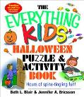 Everything Kids Halloween Puzzle and Activity Book Hours of Spine-Tingling Fun