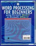 Word Processing for Beginners: Using Microsoft Word 97 or Microsoft Office 97 (Usborne Compu...
