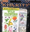 Wild Flowers of North America Kid Kit (Usborne Kid Kits)