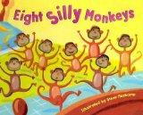 Eight Silly Monkeys Jumping on the Bed