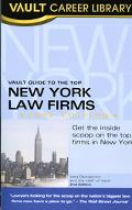 Vault Guide to the Top New York Law Firms, 2006