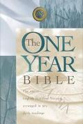 One Year Bible The Entire English Standard Version Arranged in 365 Daily Readings