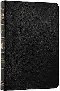 Holy Bible English Stanard Version, Black, Genuine Leather