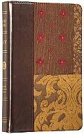 Holy Bible English Standard Version, Gold, Tapestry Design, Regency, Red Letter, Thinline
