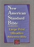 New American Standard Bible Large Print Ultrathin