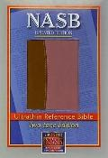 New American Standard Bible Ultrathin Reference: NASB Update LeatherTex, Brown/Pink