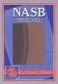 New American Standard Bible Compact: NASB Compact Brown Two-Tone