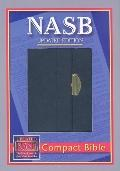 New American Standard Bible Compact: NASB Compact Black Snap Flap