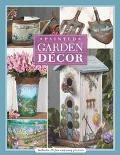 Painted Garden Decor