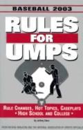 Rules for Umps Baseball '02-03