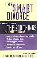 The Smart Divorce - Susan T. Goldstein - Paperback