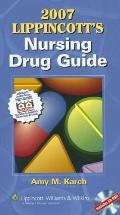 2007 Lippincott's Nursing Drug Guide, Canadian Version