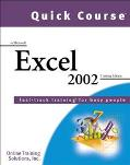 Quick Course in Microsoft Excel 2002 Fast-Track Training Books for Busy People