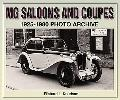 MG Saloons and Coupes 1925-1980 Photo Archive