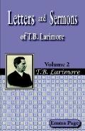 Letters and Sermons of T. B. Larimore